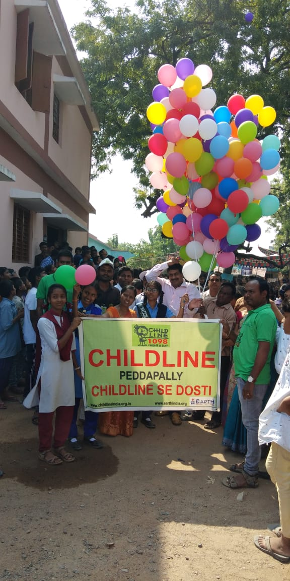 EArtH conducts World day prevention of Child abuse